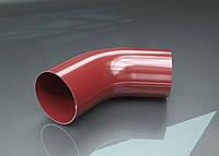 Колено трубы 60 градусов для металлического водостока RAIKO 125/90