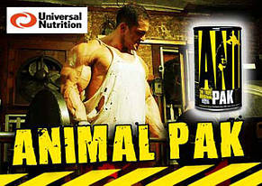 Витамины Animal Pak Universal Nutrition (44 пак.), фото 2