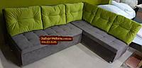 Кухонный диван Прометей с пуговицами на заказ