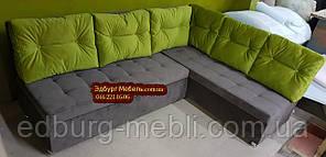 Кухонний диван Прометей з гудзиками на замовлення