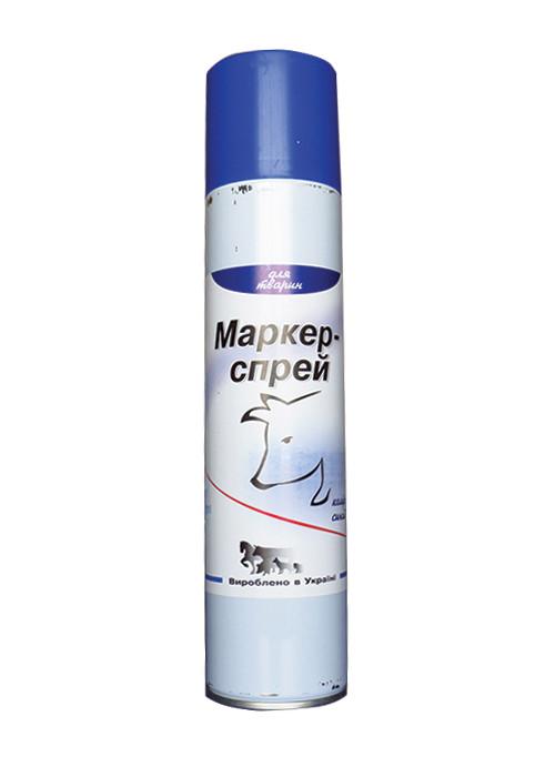 Спрей краска маркер 500 мл. (синий)