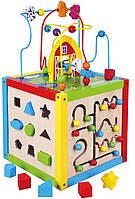 Развивающая игрушка Viga Toys Занимательный кубик (58506)