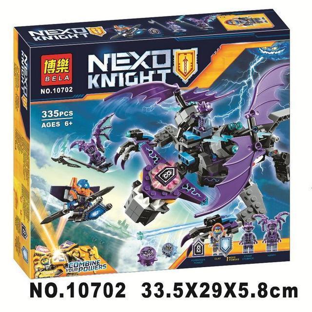 """Конструктор Nexo Knights 0702 """"Летающая Горгулья"""" - 335 деталей."""