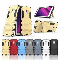 PC + TPU чехол Metal Armor для Samsung Galaxy A5 (2018) (6 цветов)