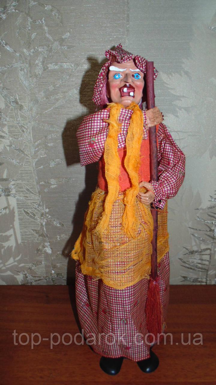 Баба-яга декоративная высота 55 см