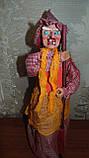Баба-яга декоративная высота 55 см, фото 5