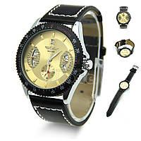 Мужские часы Winner золотистый (Код 05)