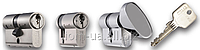 Цилиндр TITAN  T100RX  ключ/ключ(ключ/кноб) никель