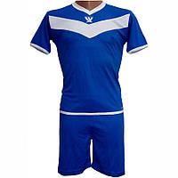 Детская футбольная форма Swift Idea 26 Tactel сине/белая (р. 146см)