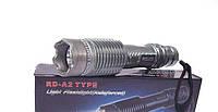 Электрошокер Оса RD-A2 10 000В (Шокер-фонарик RD-A2) (Red Devil A2) в металлическом корпусе