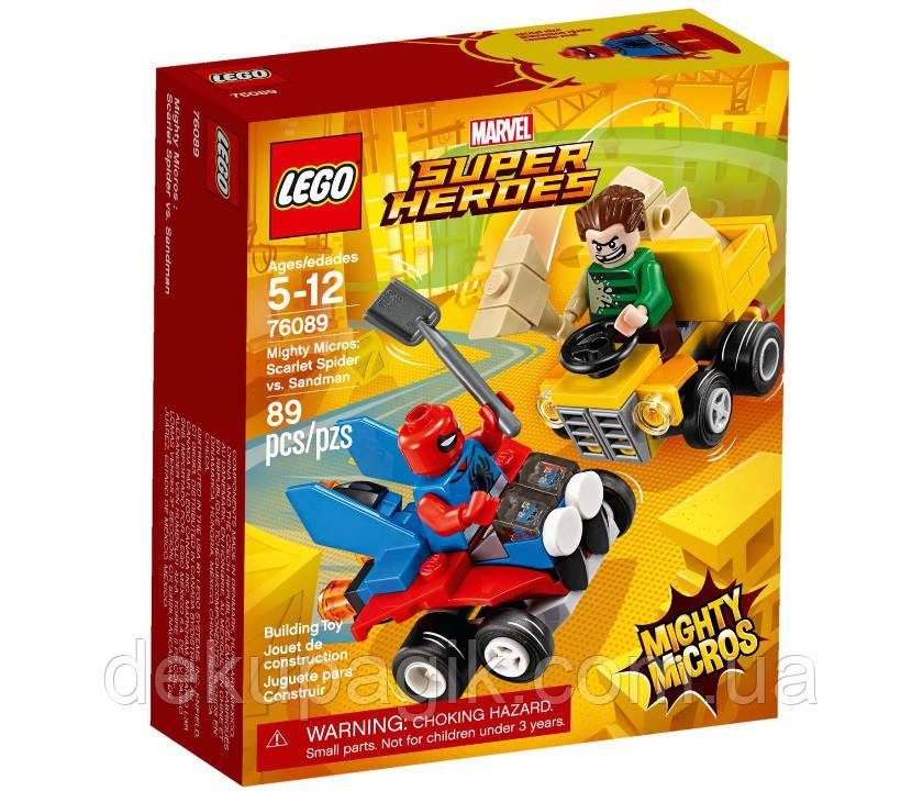 Lego Super Heroes Человек-паук против Песочного человека 76089