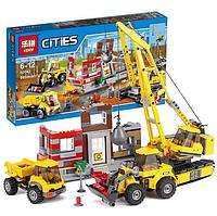 "Конструктор Lepin City 02042""Снос старого здания"" копия Lego 60076 Сити, 869дет., фото 1"