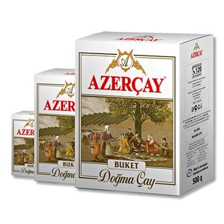 """Азерчай черный чай крупнолистовой """"Букет"""""""
