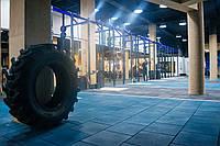 Резиновое напольное покрытие для кроссфита и тренажерных залов