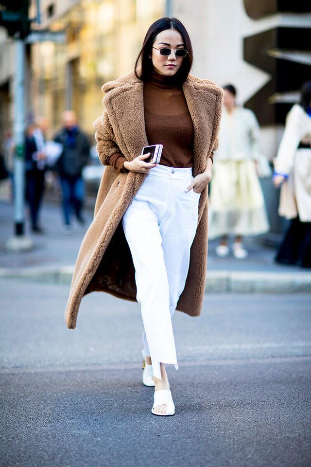 модные наряды зима 2018