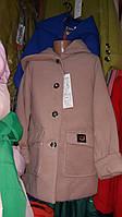 Стильное пальто для девочек демисезоннная