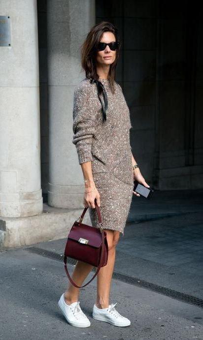 зимний базовый гардероб мода 2018