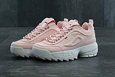 Женские кроссовки Fila Disruptor 2 Pink розовые