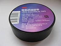 Изоляционная лента 3M ПВХ черная