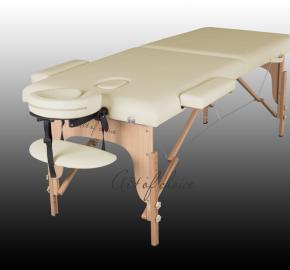 Двухсекционный массажный стол складной, переносной - TEO