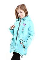 """Детская курточка для девочки """"Бабочка"""""""