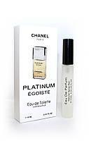 Мужской мини парфюм с феромонами Chanel Egoiste Platinum (Шанель Эгоист Платинум) 10 мл