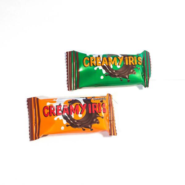 Крими ирис (сливочный ирис с шоколадной начинкой) 1,8 кг. ТМ Балу