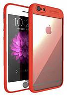 Чехол Avto Focus для iPhone 7/8, Красный