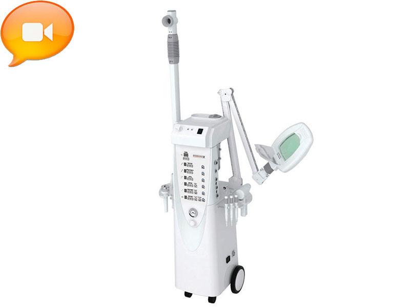 Напольный косметологический комбайн 13 в 1 мод. 1008 многофункциональный косметологический аппарат на стойке