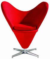 Кресло Коразон, ткань красная