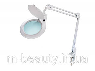 Лампа-лупа мод. 8062-5D LED (5 диопт.), крепление к столу