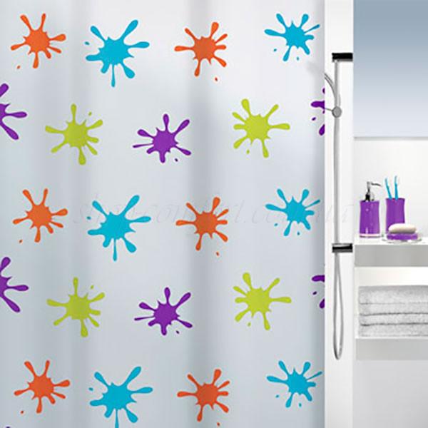 Шторка для ванной комнаты Spirella Splash 10.16133, PEVA, 180х200 см