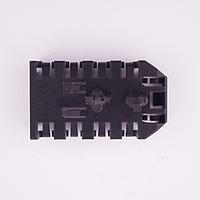 Кронштейн крепления провода антенны и магнитолы (72x41) б/у Рено Меган 3 242200003R