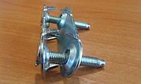 """Соединитель (зажим) 1""""для транспортерной ленты  толщиной 5-8 мм"""