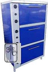 Шкаф жарочный электрический ШЖЭ-3П-GN1/1 (Стандарт) с плавной регулировкой мощности