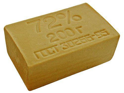 Мыло хозяйственное твердое 72% 200г