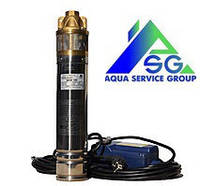 Глубинный насос Delta 4SKM 150 (Напор 99 м Подача 54 литра)(Производитель Euroaqua)