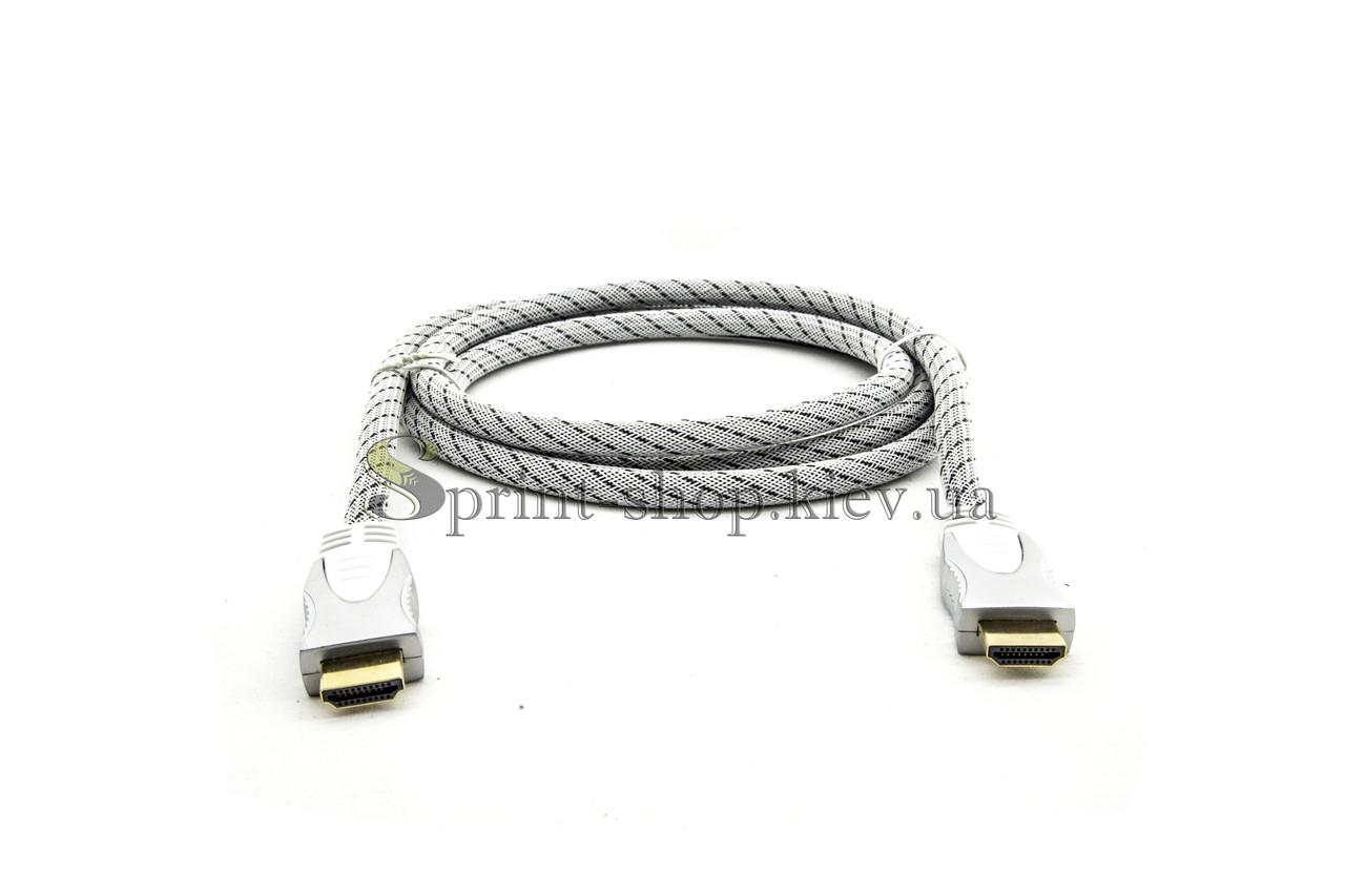 Аудио видео HDMI-HDMI шнур 1,8м (69-004)