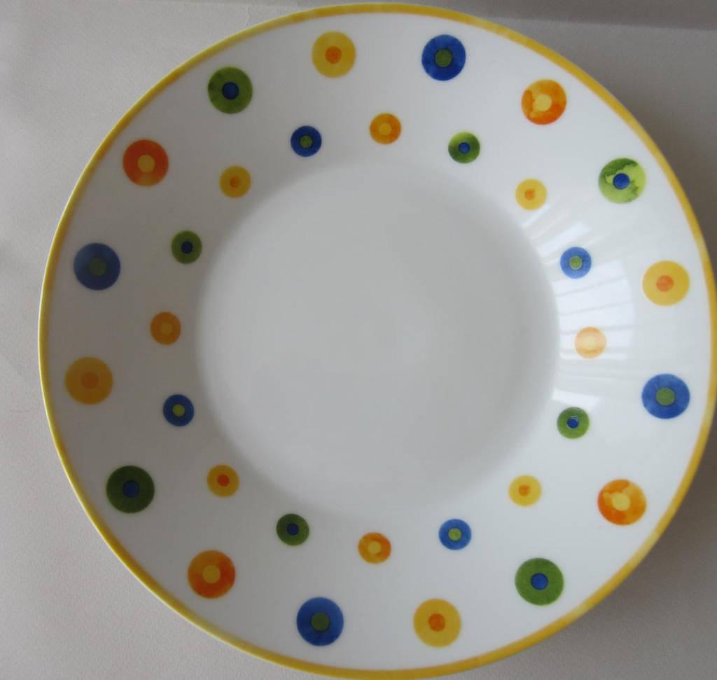 Тарелка суповая Colors 22 см