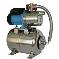 Насосная станция гидрофор Rosa JS-100 N для воды 1.1кВт Hmax52м Qmax58л/мин 24л (самовсасывающий насос)