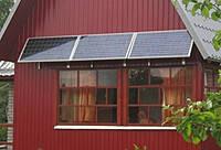 Солнечная электростанция для дома-дачи 0,33кВт 12-220Вольт