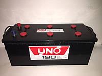 Аккумулятор 6CT-190 Ah EN 1250A (3) UNO (ДОСТАВКА  ПО ВСЕЙ УКРАИНЕ)