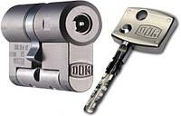 Цилиндр DOM Diamant ключ/ключ(ключ/кноб) никель
