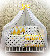 Комплект детского постельного белья Bonna Elite 8 подушек Микки Маус