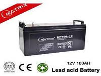 Акумуляторні батареї MATRIX NP100-12