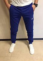 Спортивные мужские штаны Nike blue (реплика)