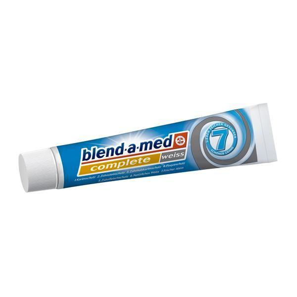 Зубна паста Blend-a-med Complete7 weiss 75 мл.