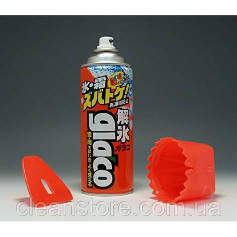 Размораживатель стёкол Soft99 GLACO DEICER W-EDGE, 330 мл., фото 2