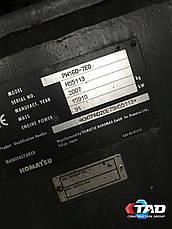 Колесный экскаватор Komatsu PW160-7EO (2007 г), фото 3