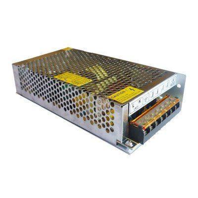 Блок питания 12В; 12А; 150 Вт PREMIUM (перфорированный) Код.52395